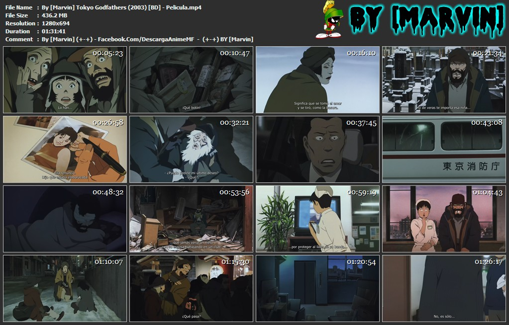 By [Marvin] Tokyo Godfathers (2003) [BD] - Pelicula.mp4
